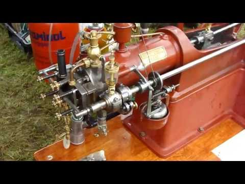 Fantastic Scale model of a Deutz slide valve with working flame ignition
