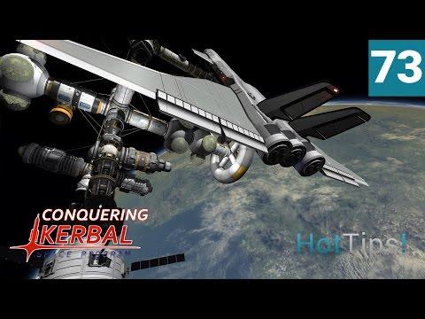 Kerbal Space Program [1.1.3] - Ep 73 - SPACE CAMP! - Let's Play