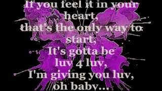 LUV 4 LUV (Lyrics) - ROBIN S