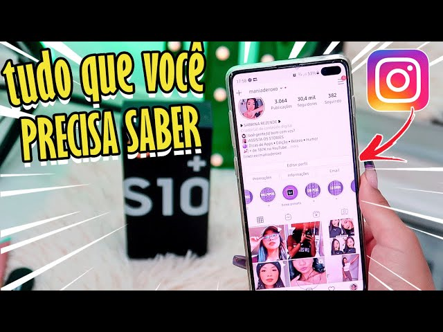 ZOOM NA CÂMERA FRONTAL NO INSTAGRAM STORIES?? OS FILTROS TRAVAM?? - Samsung S10 Plus