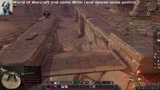World of warcraft on linux demonstration