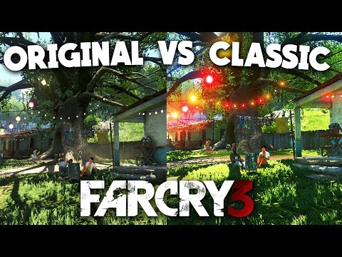 Far Cry 3 Classic Edition Comparison Xbox One Vs Xbox 360 Youtube