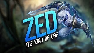 URF Zed Montage 2017 - The King of URF !