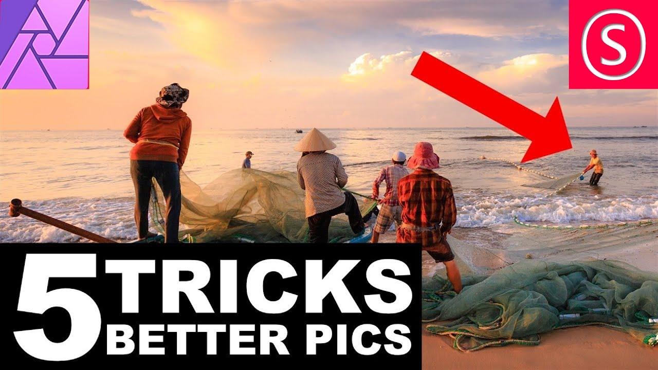Affinity Photo - 5 Tricks for better Pics