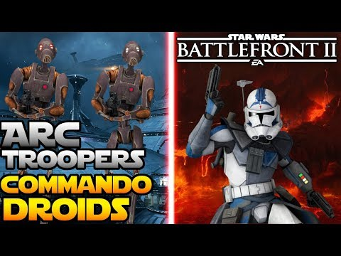 Commando Droids AND ARC Troopers Confirmed! - Star Wars Battlefront 2 thumbnail