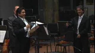 Francisco Araiza recibe la MEDALLA DE ORO de Bellas Artes Mexico 2011