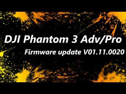 How to update Firmware | DJI Phantom 3 | Advanced ...