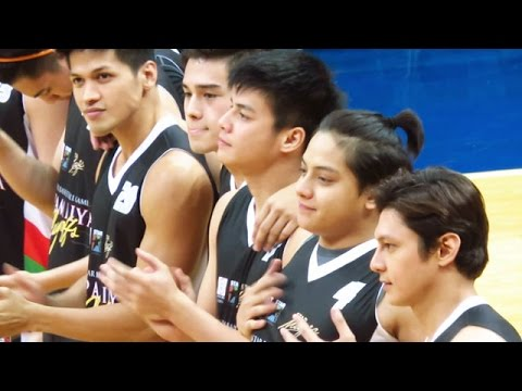 TEAM DANIEL Introduction  Kapamilya Playoffs  2016 AllStar Basketball Game