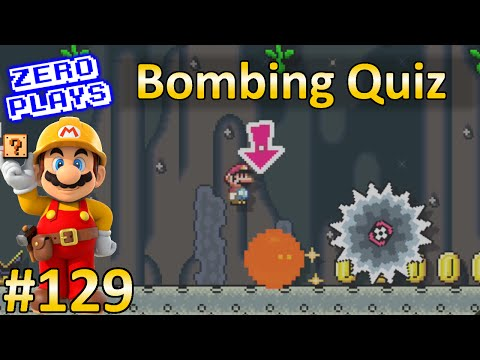 Bombing Quiz | Super Mario Maker Part 129