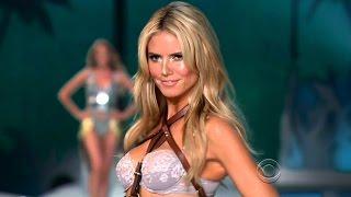 Heidi Klum Victoria's Secret Runway Walk Compilation 1997-2009 HD
