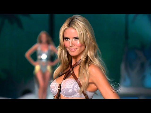 Heidi Klum Victorias Secret Runway Walk Compilation 1997-2009 HD