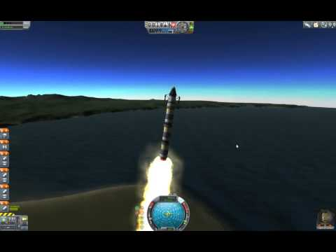 Let's Play: Kerbal Space Program (BETA) 002: Launch Platform Needs New Side-Piping