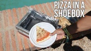 How Make Pizza Shoebox
