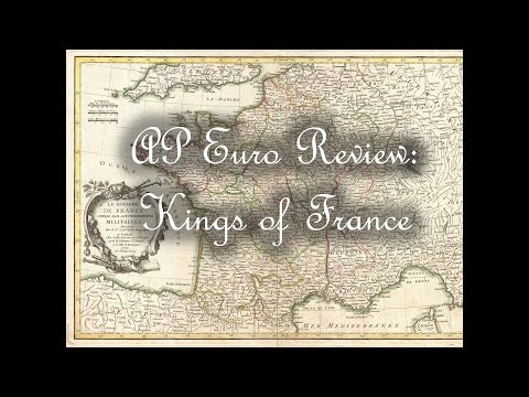 Mr. Knight Live - AP Euro French Kings Review