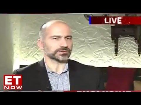 Uber CEO Dara Khosrowshahi Speaks To ET Now