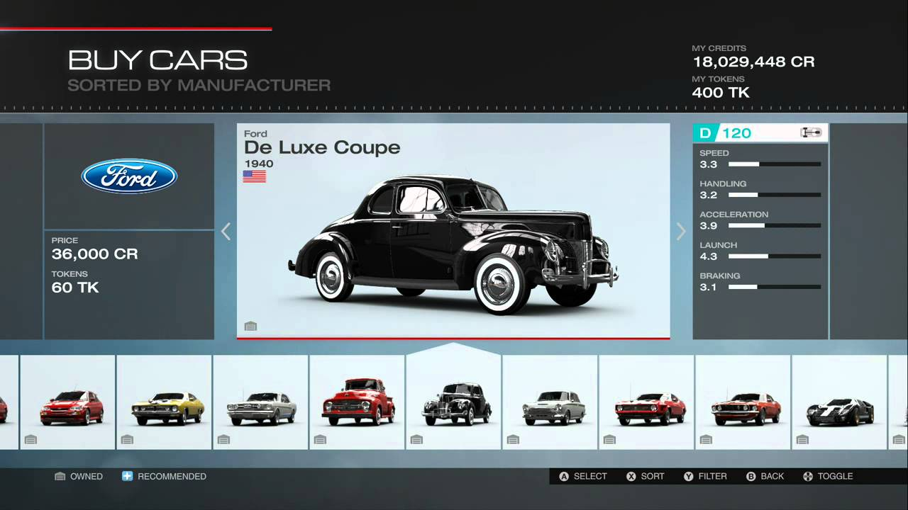 forza motorsport 5 all cars including all dlc 318 cars youtube