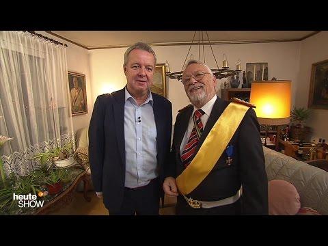 Carsten van Ryssen trifft den Reichskanzler Norbert Schittke - heute-show vom 02.12.2016   ZDF
