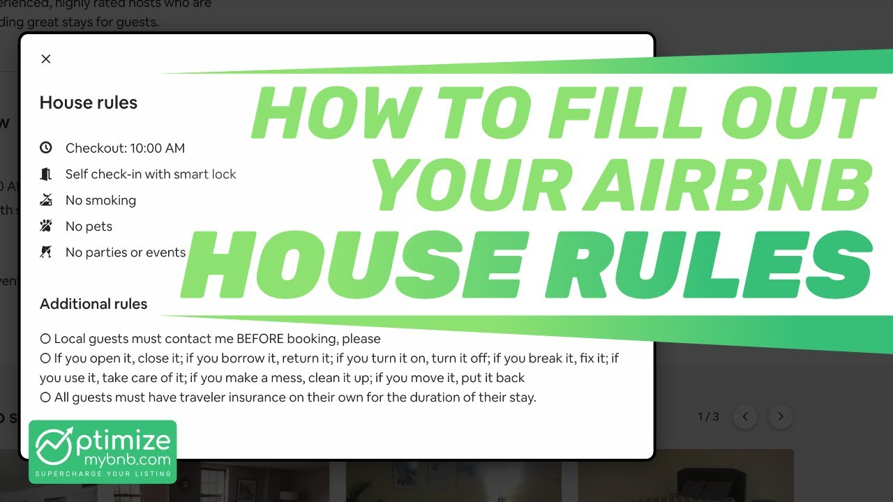 How To: Airbnb House Rules