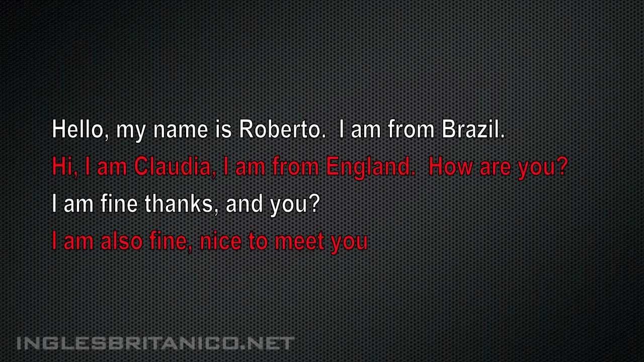 Conversação Em Inglês Com Tradução Português Youtube