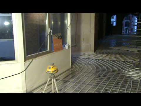 Leer alles over het leggen van een anhydriet vloer youtube