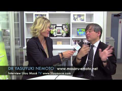 Masaru Emoto's research on water & death - Dr Nemoto Yasuyuki, Tokyo