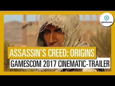 Assassin's Creed Origins: Gamescom 2017 Cinematic-Trailer - AUT