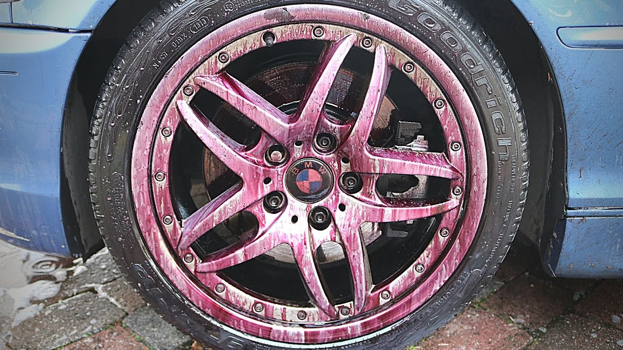 Reverse Reaction with Fallout Remover Alloy Wheel Cleaners