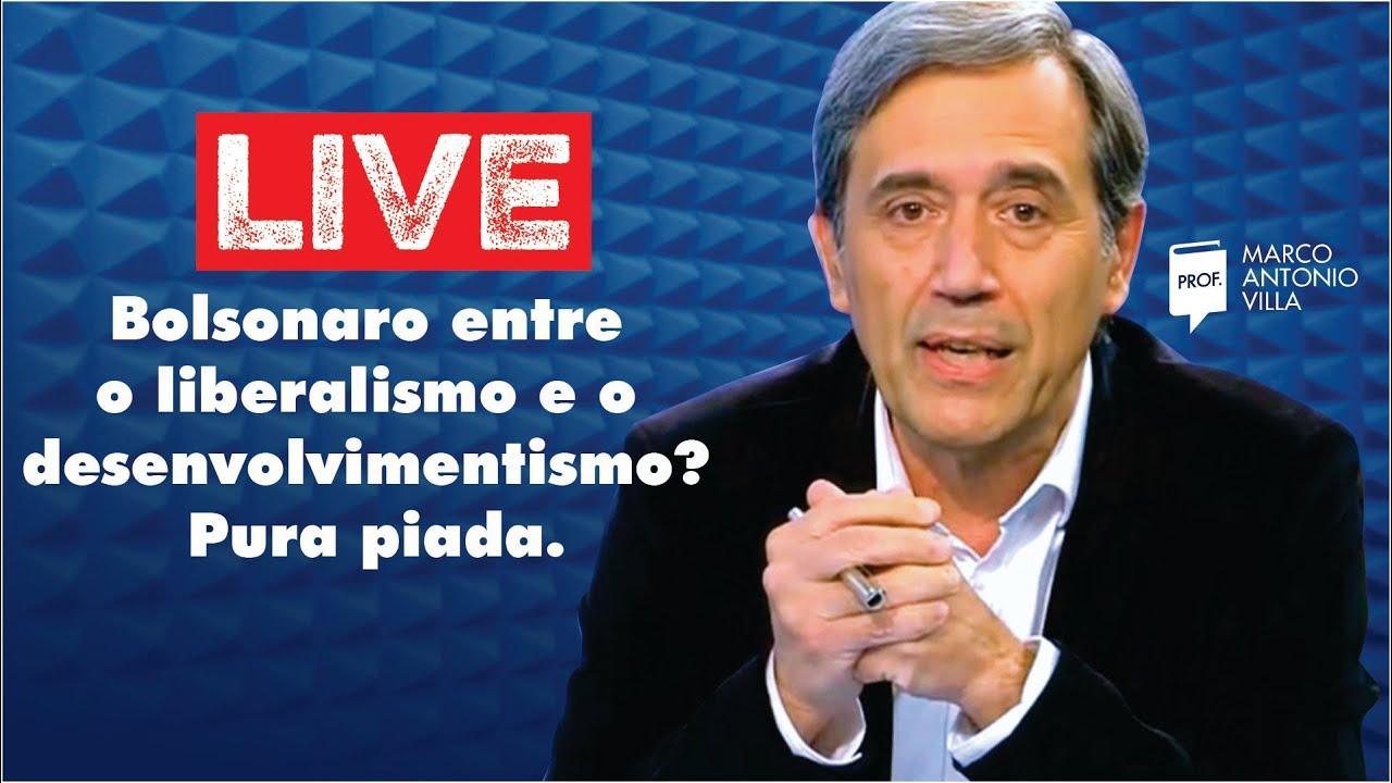 Live: Bolsonaro entre o liberalismo e o desenvolvimentismo? Pura piada. 12/08/20