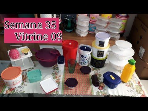 Abrindo Caixa Tupperware Semana 35 Vitrine 09 Youtube