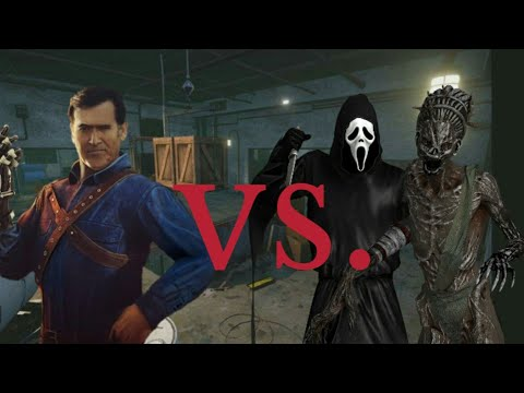 Dead by Daylight: Ash vs Ghostface ft. The Hag  