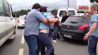 Избиение ментов кавказцами