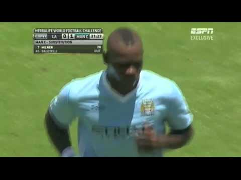 Watch Mario Balotelli's failed backheel