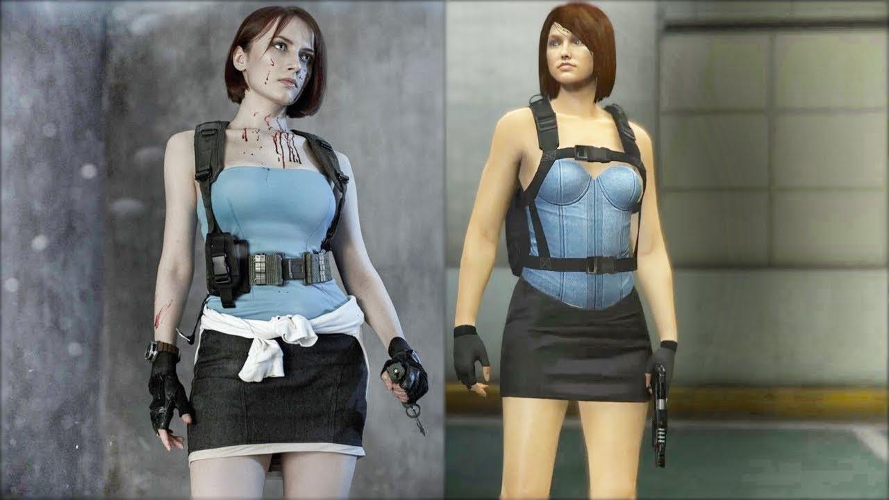 Jill Valentine Cosplay Resident Evil Apocalypse Gta Online Cosplay 4