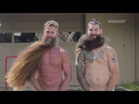 Brent Burns And Joe Thornton Let Their Beards Fly In The 2017 Body Issue | ESPN