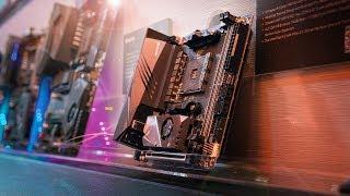 Aorus X570 ITX + 15GB/s SSD RAID!