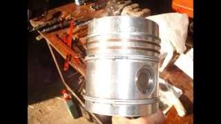 Remont Wladimirca, zdjęcia. Wladimirec T-25 Engine overhaul, photos.