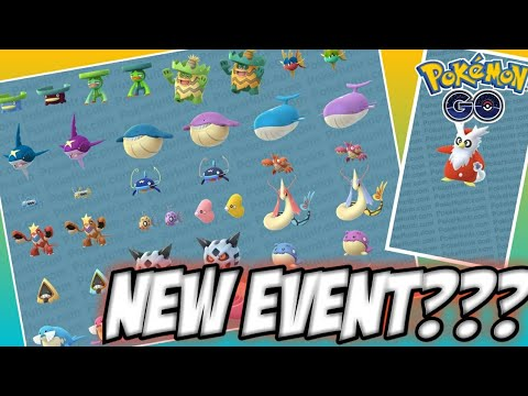 NEW WINTER EVENT FOR POKEMON GO?! // NEW UPDATE COMING!!