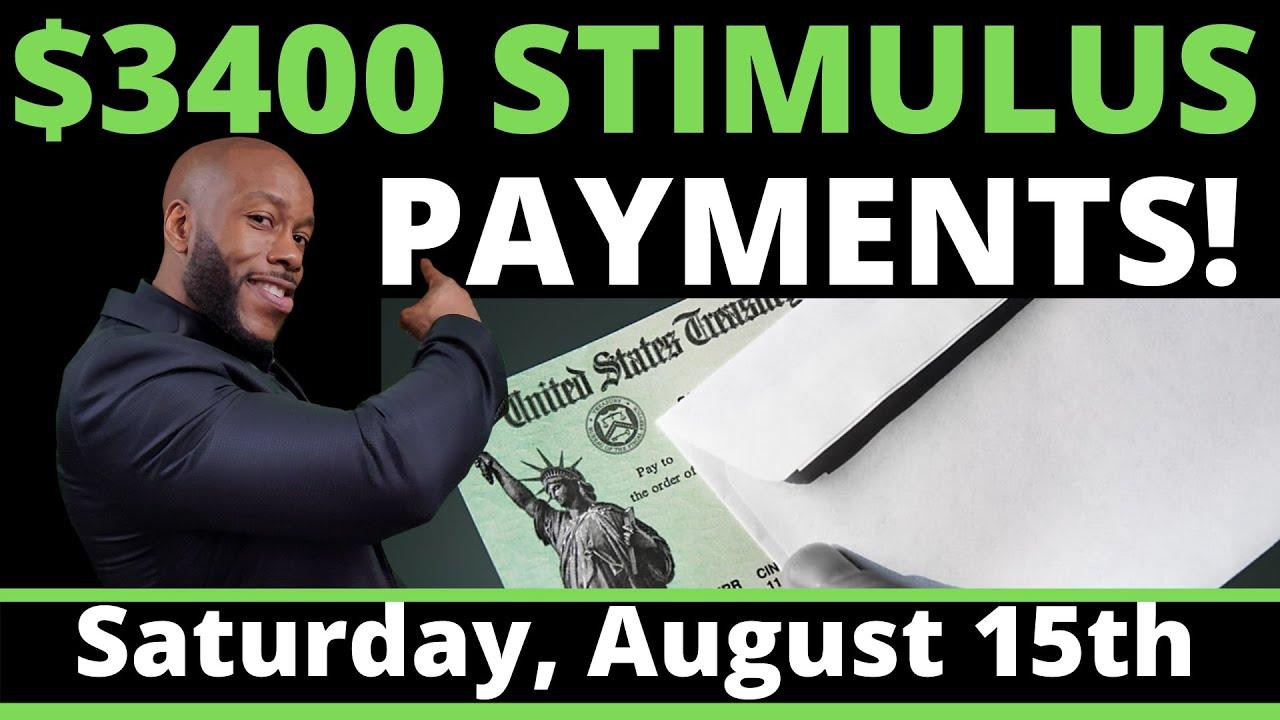 $3400 TRUMP!! Second Stimulus Check Update: Aug 15  STIMULUS PACKAGE!!