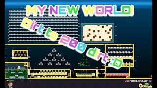 Growtopia - Dirt to 200 Dirt #2 I bough new main world!