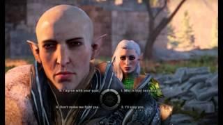 Dragon Age Inquisition (Trespasser) - Solas romance - Flycam experiment