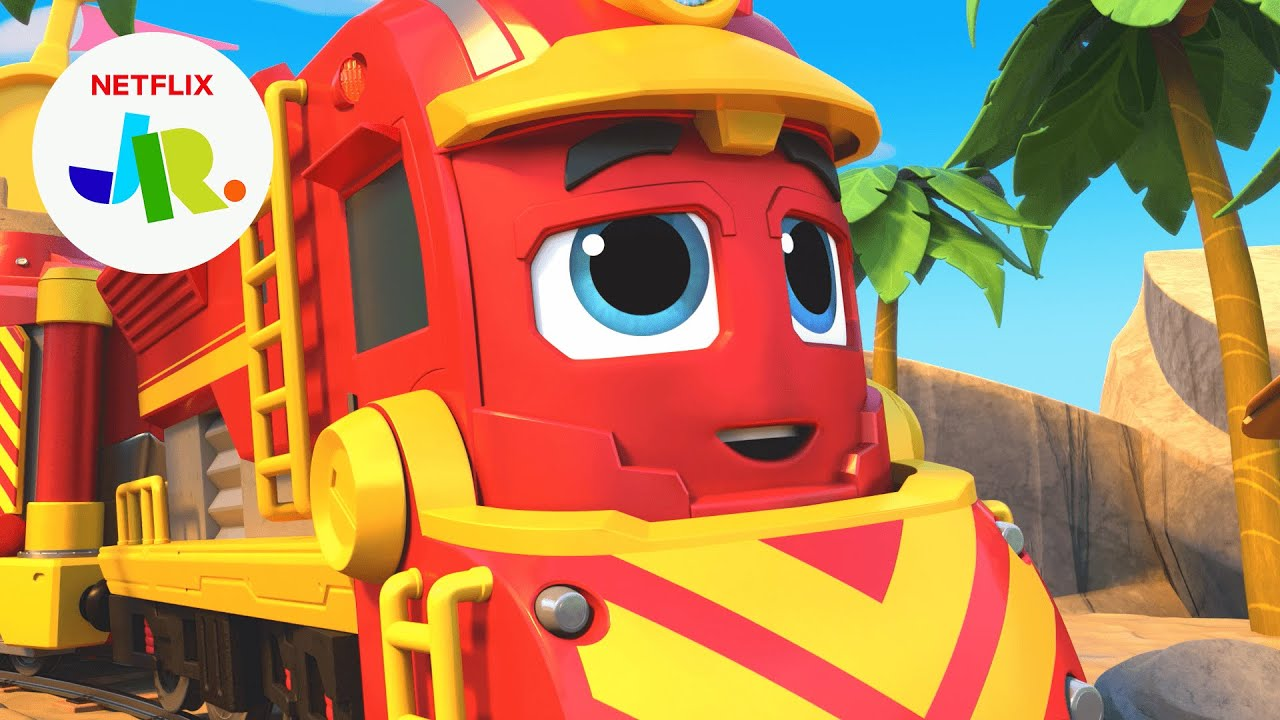 Freight Nate's MIGHTIEST Moments 🚒 Mighty Express | Netflix Jr