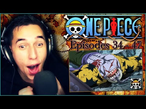arlong-vs-luffy!!---one-piece-☠️-epic-marathon-episodes-33-to-47-reactions!!-[full-length]