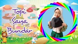 Topi Saya Bundar Lirik | Lagu Anak Indonesia | SDBP Kelas 1 SD