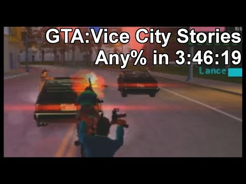 GTA:Vice City Stories Any% in 3:46:19