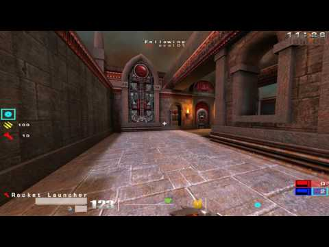 Quake 3 OSP: Quake 3 CTF - Elite Strike Vs Untouchables - Game 1