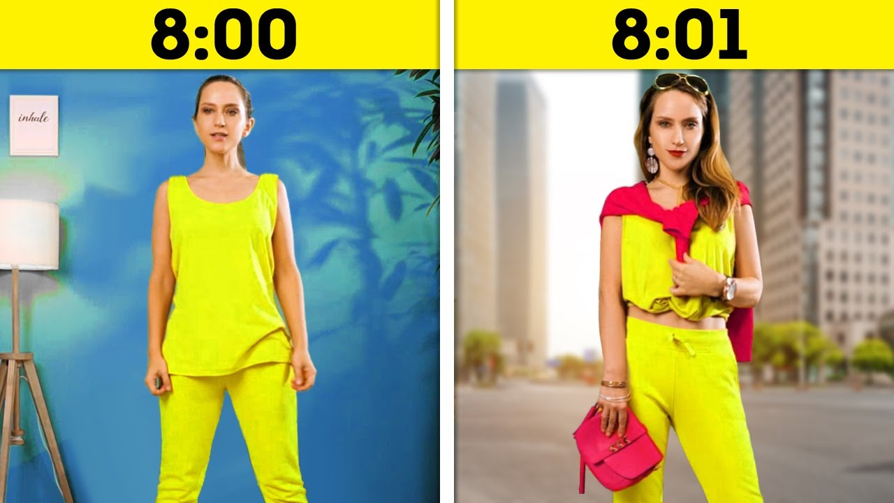 30 Fast Clothing Tricks That Will Make You Gorgeous
