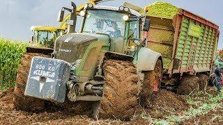 Maishäckseln   Fendt Traktoren   Lohnunternehmen Kumm Agrar   AgrartechnikHD