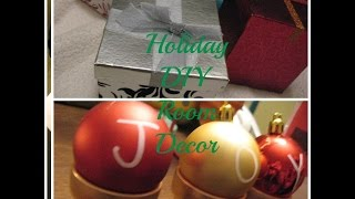 Holiday DIY Room Decor Thumbnail