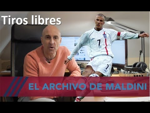 Maldini y su archivo. Goles alucinantes de libre directo. #MundoMaldini