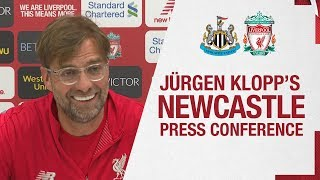 Jürgen Klopp's pre-match press conference | Newcastle United